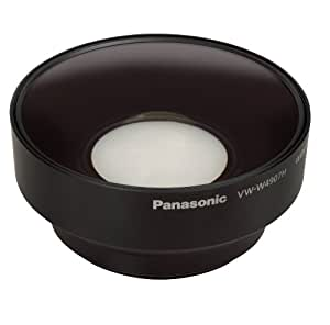 Panasonic VW-W4907HGUK Weitwinkellinse, 49 mm, für HD Camcorder X900M, X909, X800, V707 (inkl. Adapter für V707 von 46mm auf 49mm)