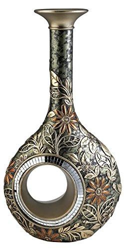 OK Lighting Chrysanthemum Decorative Vase, 16.0