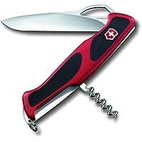 Victorinox RangerGrip 63 Coltellino Multiuso Svizzero, Rosso/Nero