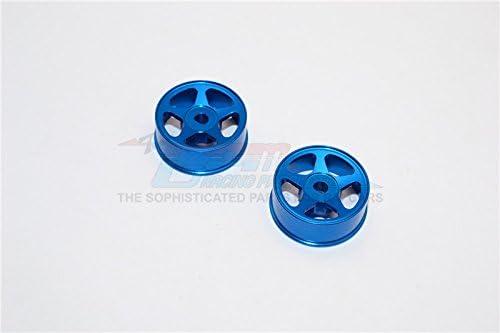 XMods Generation 1 & & & Evolution Touring Upgrade Pièces Aluminium Front Sinkage Rims (Star) - 1Pr Blue c73309