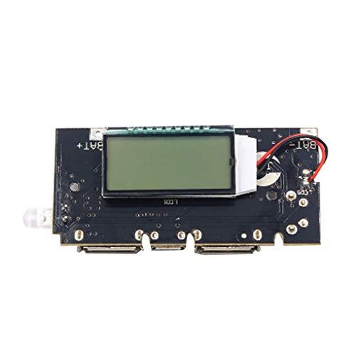 1 Ausgabegerät (Timlatte Dual USB 18650 Ladegerät PCB Power Module 5V 1A 2.1A bewegliche Energien-Bank Vorstand Telefon DIY LED-LCD-Modul)