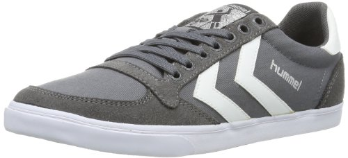 Hummel SL. Stadil Duo Canvas Low, Zapatillas Unisex Adulto, Gris (Dove), 36 EU amazon-shoes el-gris Zapatillas bajas