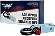 AOR Hitch Receiver Shackle Kit, Aor-Hrsk