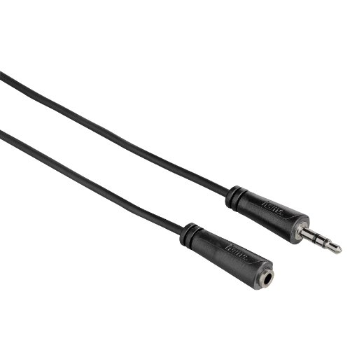 Hama Audio Extension Cable 3.5mm jack plug Socket Stereo 3m lowest price