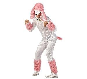 Limit del caniche de vestuario (2X-Large, blanco/rosa)