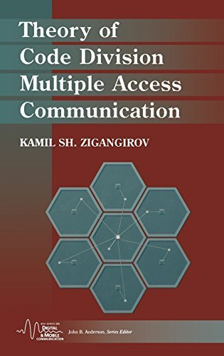 Theory of Code Division Multiple Access Communication (IEEE Series on Digital & Mobile Communication) by Zigangirov, Kamil Sh. (2004) Hardcover