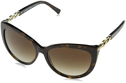 Michael Kors Damen MK2009 Gstaad Sonnenbrille, Braun (Dark Tortoise 300613), One size (Herstellergröße: 56)