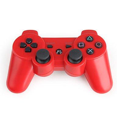 WH USD $ 14,36 - Kabelloses Dualshock 3 Steuerkreuz für PlayStation3/PS3 (Red) (Playstation3-fan)