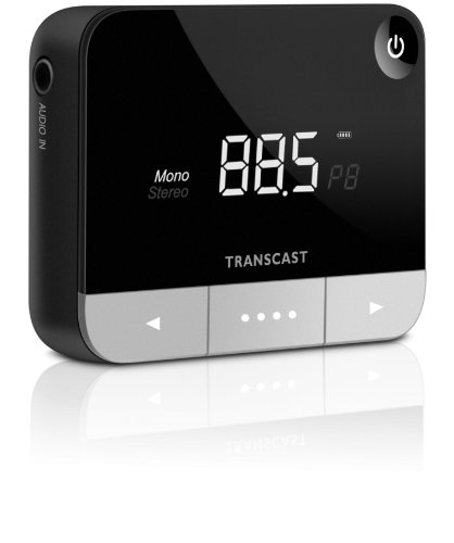 Philips DLV 92009 Stereo FM Transmitter (LC-Display, 3,5 mm Stereo Ministecker) schwarz