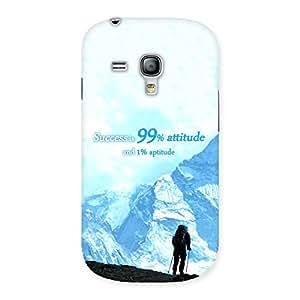 Gorgeous Attitude Success Back Case Cover for Galaxy S3 Mini