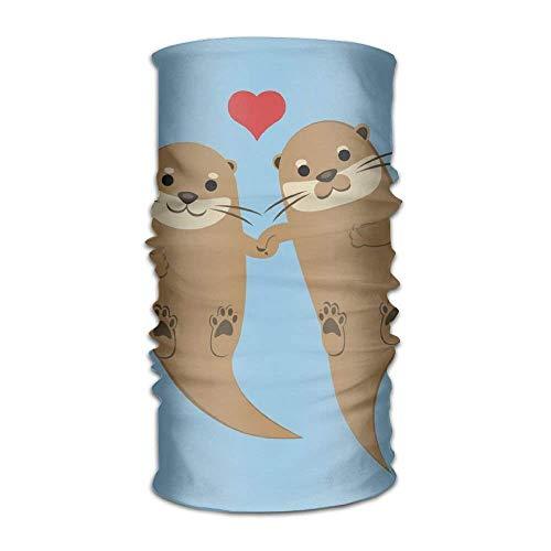 Uosliks Cute Otter Borther Fashionable Outdoor Hundred Change Headscarf Original Multifunctional Headwear
