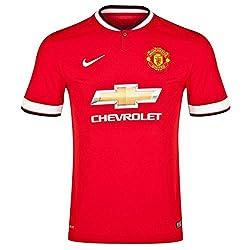 Nike 2014-2015 Man Utd Home Football T-Shirt