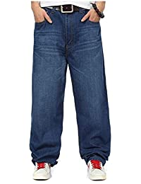 Elodiey Pantalones De Mezclilla De Hip Hop Pantalones Los 2018 Hombres De De Joven Mezclilla Holgados
