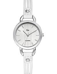 Go girl only Damen-Armbanduhr Analog Quarz Weiß 698580