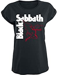 Black Sabbath Creature Girls Shirt Black S