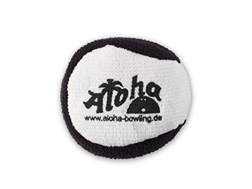 Aloha Bowling Microfiber Grip Ball (Weiß/Schwarz) (Ball Bowling)