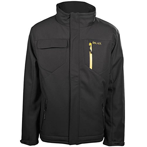 DBLADE Gilet Da Lavoro Softshell Jacket Vest Black Tessuto Elastico Abbigliamento tecnico e protettivo