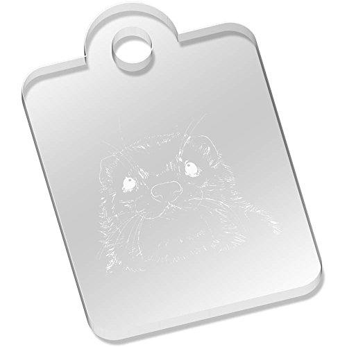 Azeeda 'Frettchengesicht' Schlüsselanhänger (AK00051549)