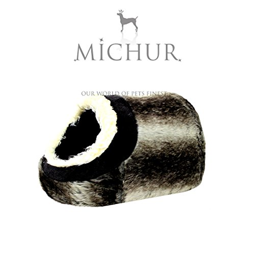 Michur Leo Polar soft cave bed for dogs cats available in different sizes