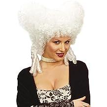 Elegante diseño barroco de la peluca de la peluca de la peluca de estilo barroco y