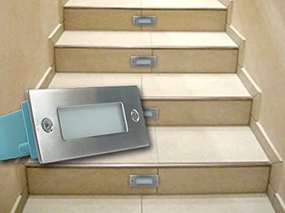 5x Venezia Led 230v Wandeinbaustrahler Treppenlicht 15w Ip54 Warmwei Trendlights24 Hausmarke von trendlights24