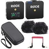 Rode WIGO Wireless GO drahtloses Mikrofon-Funksystem + Soft-Case Tasche