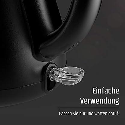 Razorri-RCKM1KA-Edelstahl-Wasserkocher-Kaffeekessel-mit-Schwanenhals-Thermometer-Schnellkochfunktion-Abschaltautomatik-Teekocher-07-Liter-1000-Watt-Schwarz