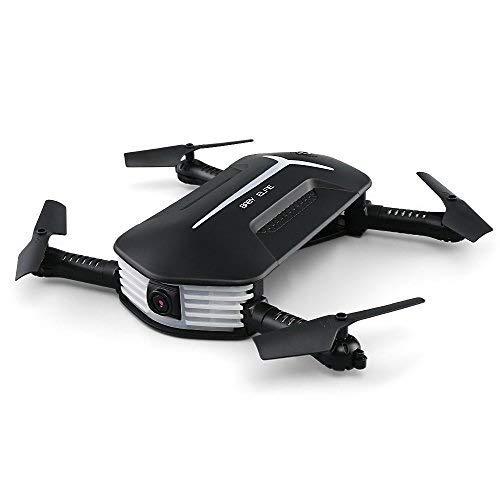 JIANPING Remote-Drohne, Vier-Achsen-Flug, Höhenschießen Induktionsklappdruck Anzug Tragbare Ultradünne Picknick Einfach Im Freien Zu Tragen Remote-Drohne