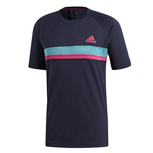 adidas Colorblock Club T-Shirt Homme, Legend Ink, FR :...