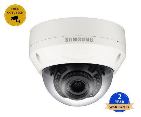 SS439 - SAMSUNG SNV-L5083R 2 Megapixel PoE Netzwerk CCTV-DOME-KAMERA H.264, MJPEG 4.3X Vario-Objektiv BEWEGUNGS IP66 wetterfest 0.095 LUX IR LÄNGE 20M multiples Streaming -