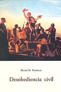 Desobediencia civil par Henry David Thoreau