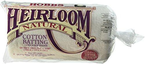 Hobbs 229x 274x 1cm Queen Heirloom Baumwolle Scrim, weiß -