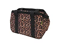JanetBasket JanetBasket Eco Bag-18-inch x 10-inch x 12-inch Leopard, Other, Multicoloured