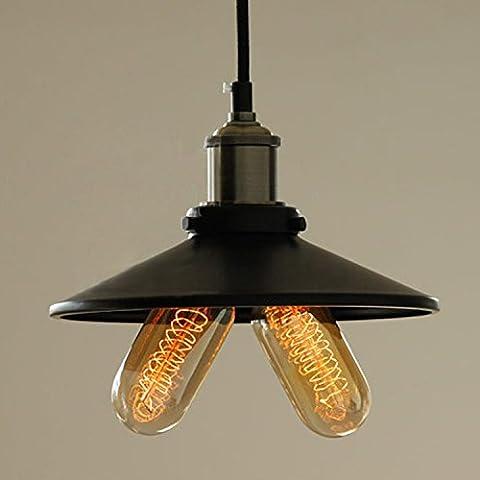 Vintage lampada da parete Double Buld industria