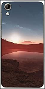 Snoogg Nature Wallpaper 4 Designer Protective Back Case Cover For HTC Desire 728