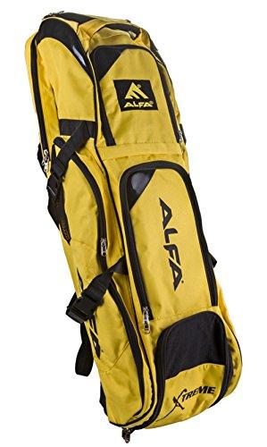 Alfa Extreme Non Tear Matty Tuch Hockey Sport Kit Tasche - Farbe erhältlich Gelb