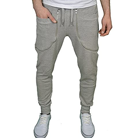 Genetic Apparel - Pantalon de sport - Homme - Gris - Small