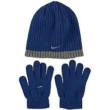 a964b90ee78a Nike Junior Bonnet et gant côtelés pour Garçon pour les enfants de six à ...