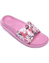 3ab5985cf61 Pantoufles de Bain Chaussures de Piscine Antidérapant Sandales Plage  Claquettes Plates pour Hommes Femmes
