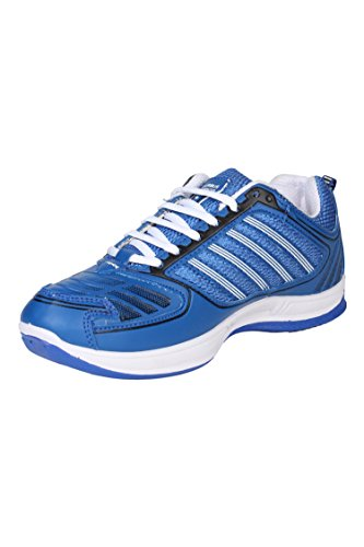 Columbus Men Blue White Sports Shoes (10 UK)  available at amazon for Rs.399