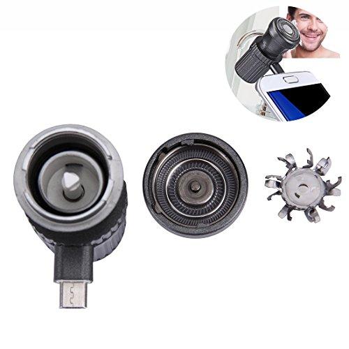 Mini-Telefon USB-elektrischer Bart-Trimmer, Notfall-Reise-beweglicher Mini-Rasiermesser-Rasierer, DER DURCH IHR MOBILE TELEFON-Android