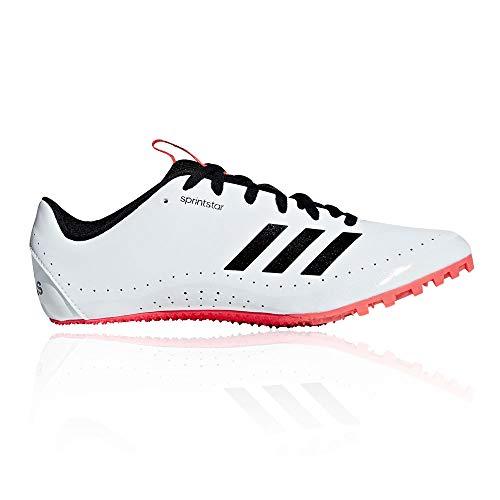 adidas Sprintstar, Scarpe da Atletica Leggera Uomo, Multicolore (Ftwr White/Core Black/Shock Red B37503), 40 2/3 EU