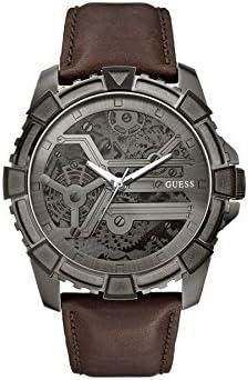 Guess Reloj de cuarzo Man W0274G1 Marrón 41 mm