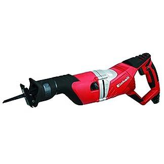 Einhell RT-AP 1050 E – Sierra sable universal, 2700 cortes/min, 1050 W, 230 V, color rojo y negro