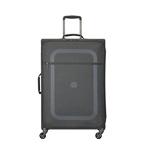 DELSEY PARIS DAUPHINE 3 Koffer, 77 cm, 99 liters, Grau (Gris Poivre) -