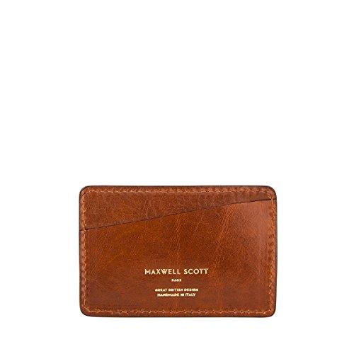 Maxwell Scott® Porte-Cartes Léger En Cuir Italien (Alberi)
