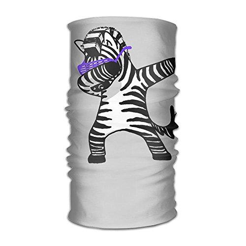 RAINNY Headwear Headband Funny Dance Zebra Head Scarf Wrap Sweatband Sport Headscarves For Men Women