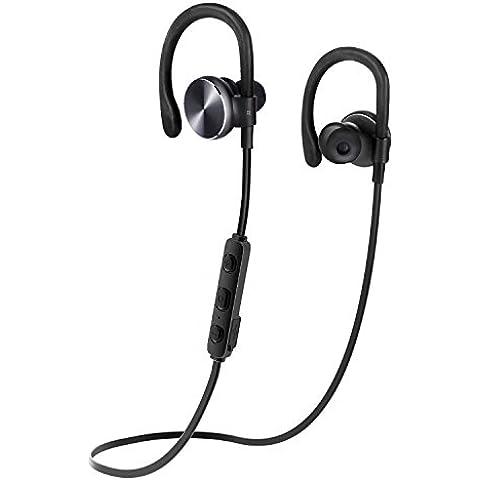 Auriculares Bluetooth, COULAX CX06 Auriculares inalambricos in ear Auriculares Bluetooth 4.1, Cascos Bluetooth, Auriculares Deportivos Bluetooth, Resistente al Sudor, Cancelación de Ruido para iPhone 6s Plus Samsung Galaxy S6 S5 y Android Móviles