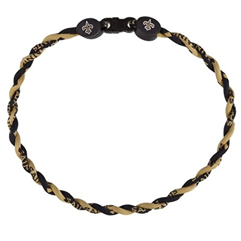 New Orleans Saints - Logo Titanium Twist Necklace