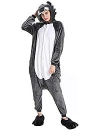 nuovi stili 15e8e 25b10 Amazon.it: pigiama unicorno - Grigio / Uomo: Abbigliamento